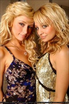 Nicole Richie and Paris Hilton