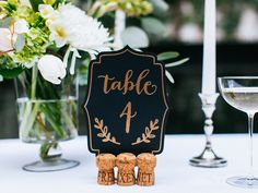 12 Glamorous Black-and-Gold Details for Your Wedding  | Photo by: Freixenet Cava | TheKnot.com