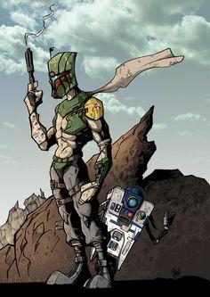 Borderlands/Star Wars Mashup