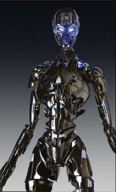 """The T-X Terminator Exo-Skeleton From """"The Terminator 3 - Rise Of The Machines"""""""