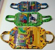 Make Up Bag or kids busy bag tutorial ... or sewing purse :)