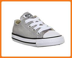 Converse, Mädchen Sneaker , Silber - silber - Größe: 26 (*Partner Link