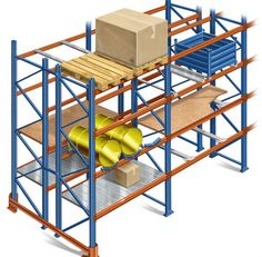 Warehouse Pallet Racking System by Weifang Xiaoyu Commercial Equipment Co.ltd China – View more details about Warehouse Pallet Racking System from Cargo & Storage Equipment suppliers, manufacturers or exporters at TradeBanq. Steel Shelving, Shelving Racks, Rack Shelf, Storage Rack, Warehouse Shelving, Buy Pallets, Used Pallets, Warehouse Pallet Racking
