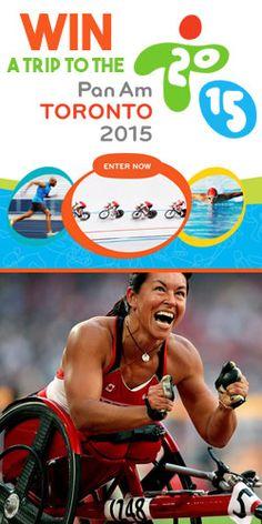 #Win A #Trip To The 2015 #Pan-Am Games American Games, Pan Am, Win A Trip, Toronto, Canada