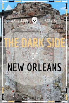 Dark Travel in New Orleans, things to do in New Orleans, Spooky things to do in New Orleans, ghost tours in the French Quarter, things to do in the french quarter New Orleans, French Quarter history, tours in New Orleans, cemeteries in New Orleans, Voodoo history in New Orleans, Marie Laveau's House of Voodoo, Voodoo Queen of New Orleans, things to do in NOLA, wanderingcrystal, haunted places to visit in New Orleans, vampires in New Orleans, St Louis Cemetery No 1 #NewOrleans #DarkTravel… New Orleans Vacation, Visit New Orleans, New Orleans Travel, Nola Vacation, New Orleans Voodoo, New Orleans Louisiana, Halloween In New Orleans, New Orleans Witch, Louisiana Usa