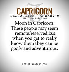 Anyone who does not get along with a Capricorn is a person