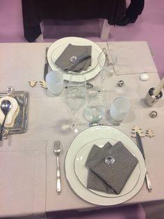 Concours de dressage de table #salonloisirsetcreations2014