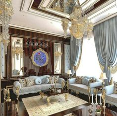 Curtains, Mansions, Photo And Video, Living Room, Sitting Rooms, House, Home Decor, Videos, Photos