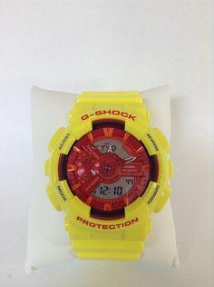Customized Original G-Shock GA110   [HIMAWARI]  Base Watch : GA-110AC-4AJF  Top Band : Hyper Yellow (GA-110A-9JF) Bottom Band : Hyper Yellow (GA-110A-9JF) Vezel Portion : Hyper Yellow (GA-110A-9JF)