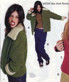 90s Fall Fashion Must-Haves from the '96 Delia's Catalog. I remember wanting this jacket.