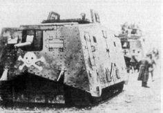 wwI german tank, knocked out - Google Search