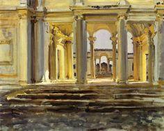 John Singer Sargent - Villa Giulia (1902)