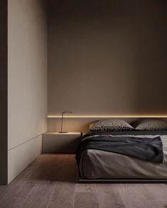 Modern Bedroom Design, Home Room Design, Master Bedroom Design, Home Decor Bedroom, Home Interior Design, Bedroom Designs, Bedroom Ideas, Modern Master Bedroom, Diy Bedroom