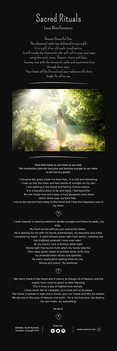 Brides Handfastings Weddings:  Sacred Rituals ~ #Love Manifestation.