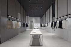 New Theory store is like shopping for clothing in an art gallery