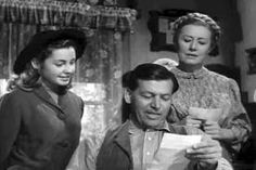 Peggy McIntyre, Philip Dorn and Irene Dunn in I remember mama