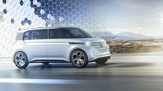 Концепт электрического минивэна Volkswagen Budd-e / Фольксваген Будд-е
