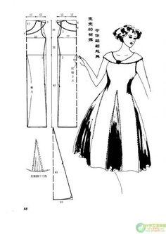 vestidos moldes - Raquel Antunes - Álbumes web de Picasa
