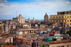 Havana, Cuba, Blick über die Altstadt
