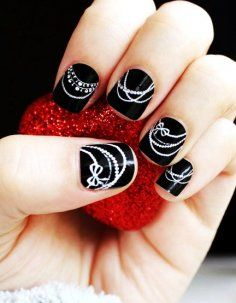Coco's Pearls Nail Designs For Short Nails