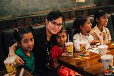 The innocent and dazzling smiles of the kids made our celebrations extra special! Love All, Serve All.