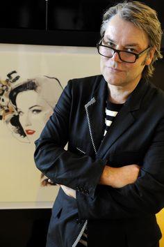 British artist David Downton.