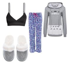 Harper's outfit - Sleeping or crying by ramadiii on Polyvore featuring polyvore fashion style H&M Victoria's Secret clothing