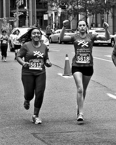 Toronto Challenge 5K 1K 2014   #monochrome #race #runTO #Toronto