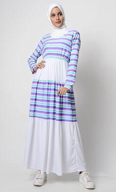 East Essence Abaya Dress  -  at PlusSizeDesi.com #psdesi #plussize #plussizedesi #desiclothing #psd Modern Hijab Fashion, Hijab Fashion Inspiration, Abaya Fashion, Fashion Outfits, Modest Wear, Modest Dresses, Modest Outfits, Moslem Fashion, Abaya Designs