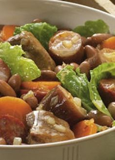 Feijoada à Lavrador                                                                                                                                                     Mais Beef Steak, Pork, Portuguese Recipes, Portuguese Food, Home Food, Spanish Food, Food Inspiration, Custo, Food And Drink