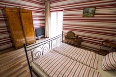 One of our new double rooms with balcony, isn't it cool? Check it out when you visit Budapest and book at the Casa!