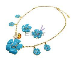 flower jewelry sets