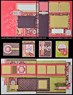 You will have two kits to choose from in May because there are seven new paper packets in the Idea Book and I couldn't bear leaving one out-...