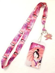 Disney Mulan Lanyard Keychain with ID Badge Holder (Bonus Charm) Disney http://www.amazon.com/dp/B00JLUMG20/ref=cm_sw_r_pi_dp_rGFavb1RGZSBJ
