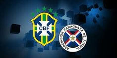 Brazil 2 Paraguay 2 in 2011 in Cordoba. Disasterous result for Brazil who scraped a draw in this Group B game at Copa America.