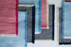 Um tutorial para guardanapos de tecido diy