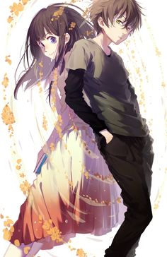 117 Best Hyouka Images On Pinterest In 2018