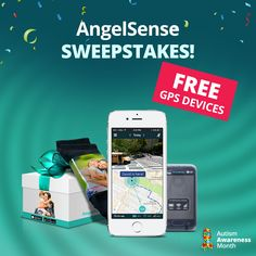 We're celebrating Autism Awareness Month! Win one of 3 FREE AngelSense GPS devices and a year of full service! With AngelSense you can keep your entire family safe and get peace of mind.
