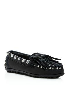 REBECCA MINKOFF . #rebeccaminkoff #shoes #moccasins