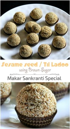 Eating sesame seed ladoo or til ke ladoo during Makar Sankranti festival is considered as auspicious. This year I have prepared til ladoo using brown sugar, Sesame brown sugar ladoo. A simple sesame seed ladoo or rassi ladoo or til ke ladoo or til ladoo is authentically made by roasting sesame seeds, combining them with jaggery syrup and finally rolling them into balls by using a small amount of ghee to prevent them from getting too sticky. Sesame ladoo can also be munched at any time of the…