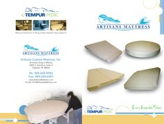 Brochures and past Advertisements Custom Mattress, Website Home Page, Yacht World, Brochure Cover, Brochures, Artisan, Advertising, Craftsman