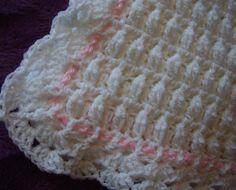 Baby Crochet Pram Cover