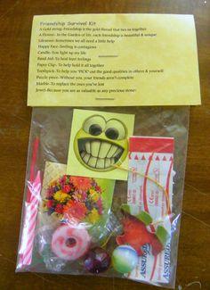 Friendship Survival Kit 11 Items Inside Novelty Gift | eBay