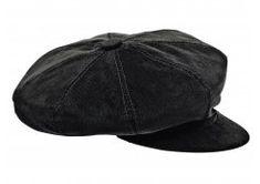 Corduroy Newsboy Cap - Black Beret f1f6db93cb37