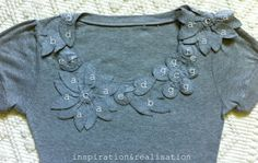 inspiration and realisation: DIY Fashion ~ a tshirt re-do
