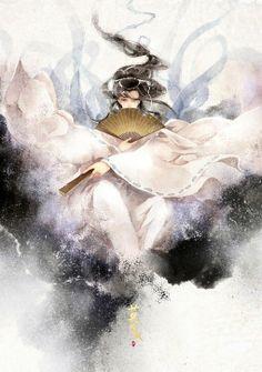 Mizu using her power Chinese Artwork, Japanese Artwork, Hanfu, Manga Art, Anime Art, Ying Y Yang, Art Asiatique, China Art, Epic Art