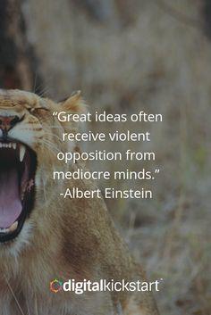 Do not fear opposition | Digital Kickstart