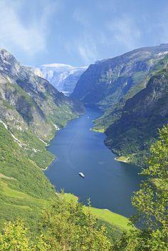 Flåm, Norway,