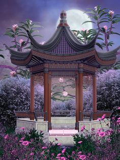 "Photo from album ""Oriental_Spring_Backgrounds"" on Yandex. Studio Background Images, Fantasy Background, Art Background, Episode Backgrounds, Photo Backgrounds, Wallpaper Backgrounds, Spring Backgrounds, Fantasy Landscape, Landscape Art"