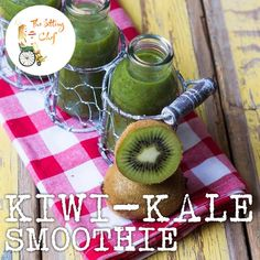 Surprisingly delicious and só good for you! #greensmoothie #kiwi #kale #healthysitting #nourishyourself #betterfoodbetterlife